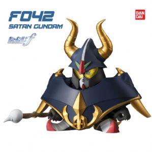 Gd Gashapon Senshi Forte #07 - โมเดลกันดั้ม เซนชิ ฟอร์เต้ - Satan Gundam